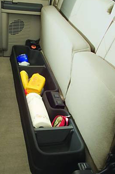 Image of Ford F-250 350 450 550 GearBox Under-Seat Storage System (1999-2016)