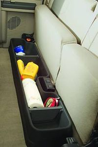 Ford F-250, 350, 450, 550 GearBox Under-Seat Storage System (1999-2016)