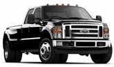 Ford F-350 Lund Elite Rivet Style Fender Flares (2008-2010)