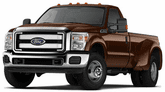 Ford F-350 Lund Elite Wide Style Fender Flares (2011-2016)