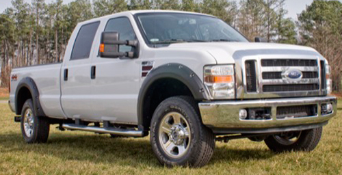 Ford F250 F350 & F450 SuperDuty Rugged Ridge All Terrain Pocket Style Fender Flares (2008-2011)