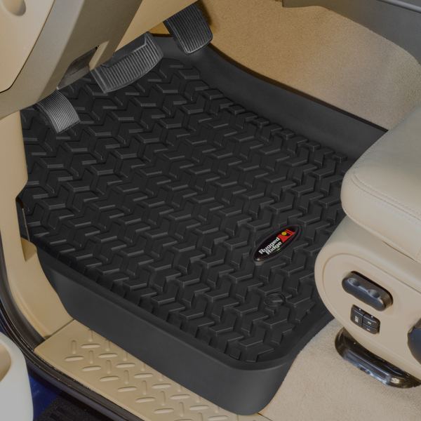 Ford F250 Front All Terrain Floor Liners-Pair (2008-2010)