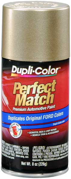 Ford/Lincoln/Mazda Harvest Gold Auto Spray Paint - B2 (1999-2004)