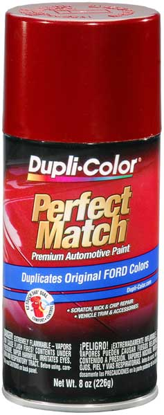 Ford Lincoln & Mazda Toreador Red Auto Spray Paint - FL (1996-2014)