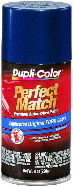 Ford/Lincoln Royal Blue Auto Spray Paint - KM (1994-1998)