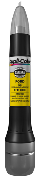 Ford & Mazda Screaming Yellow All-In-1 Scratch Fix Pen - D6 (2004-2007)