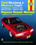 Ford Mustang & Mercury Capri Haynes Repair Manual (1979-1993)