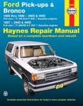Ford Pick-ups & Bronco Haynes Repair Manual (1980-1997)
