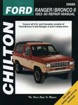 Ford Ranger & Bronco II Chilton Manual (1983-1990)