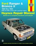Ford Ranger & Bronco II Haynes Repair Manual (1983-1992)