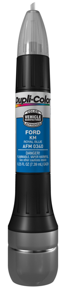 Ford Royal Blue All-In-1 Scratch Fix Pen - KM (1994-1998)
