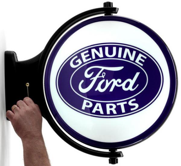 Image of Ford Service Revolving Wall Light