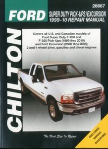 Ford Super Duty Pick-Ups & Excursion Chilton Repair Manual (1999-2010)