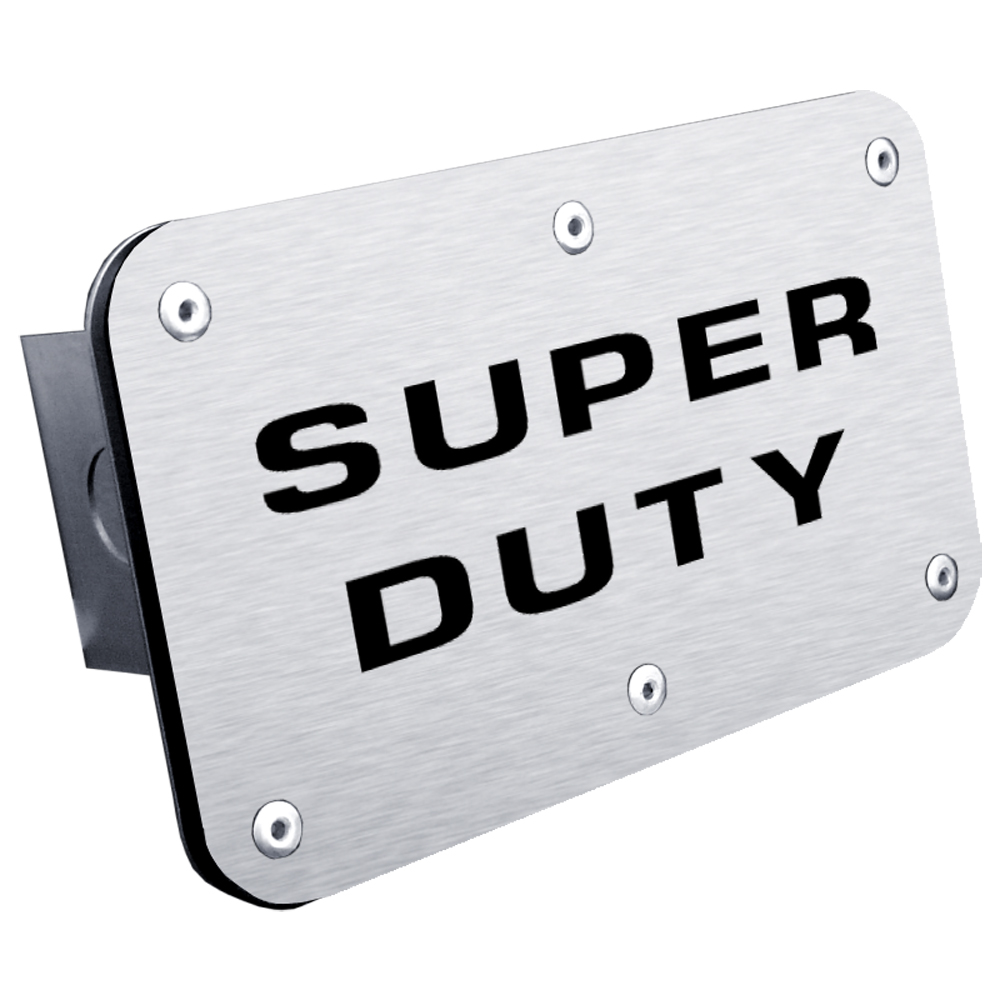 Ford Super Duty Class III Stainless Steel Hitch Plug