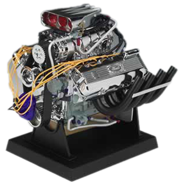 Image of Ford Top Fuel Dragster Die-Cast Engine