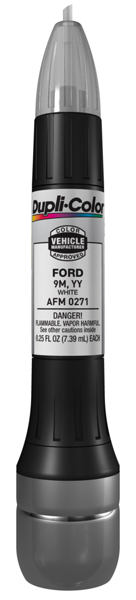 Ford White All-In-1 Scratch Fix Pen - 9M YY (1986-2002)