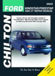 Ford Windstar, Freestar & Mercury Monterey Chilton Repair Manual (1995-2007)