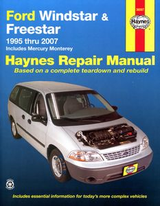 Ford Windstar, Freestar & Mercury Monterey Haynes Repair Manual (1995-2007)