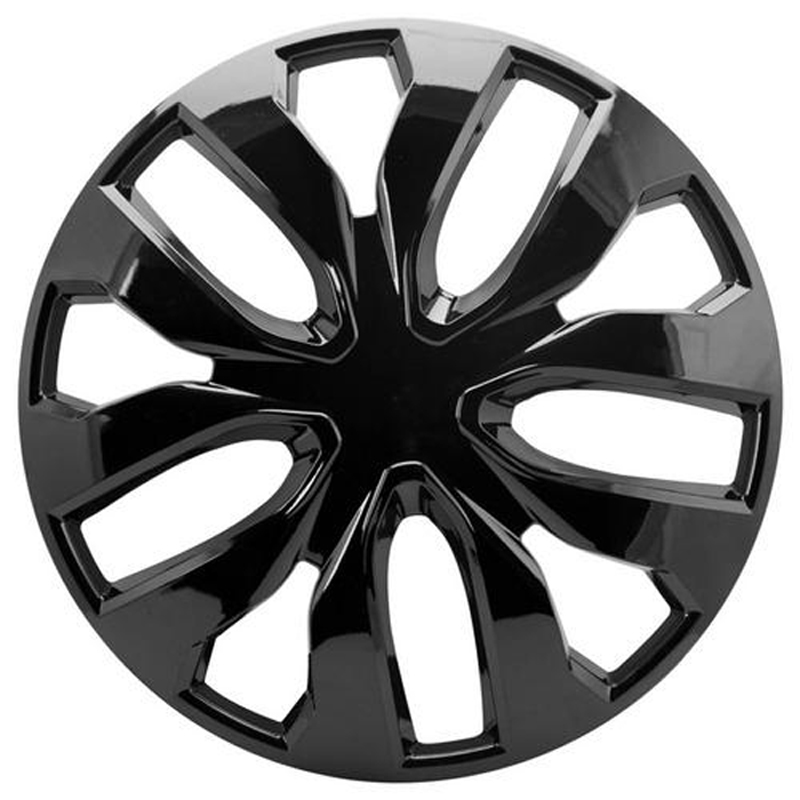 Fracture Glossy Black Wheel Covers (Set of 4) - 17 Inch