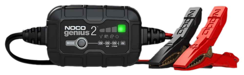 Genius2 6V & 12V 2-Amp Smart Battery Charger