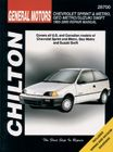 Geo Metro/Sprint, Suzuki Swift (1985-00) Chilton Manual