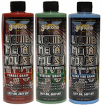 Gliptone Coarse, Medium & Ultra Fine Grade Liquid Metal Polish Kit