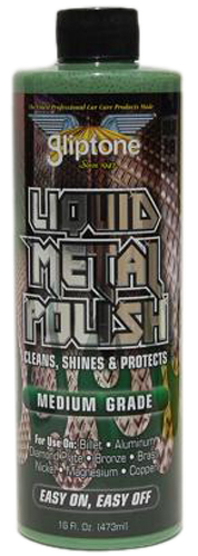 The  Gliptone Medium Grade Metal Polish is  recommended for polishing and  maintaining hard metals like...