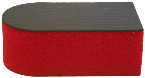 Image of Gliptone Medium Grade Red Body Prep Sponge