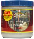 Gliptone Metal Polish Treated Cotton Pad - Coarse (4 oz)