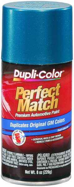 GM Metallic Bright Aqua Auto Spray Paint - 43 (1992-1998)