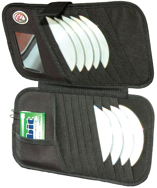 Image of Go Gear 16 CD Visor Organizer & Mirror