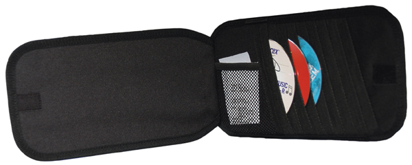 Image of Go Gear 20 CD Visor Organizer & Sun Visor