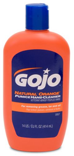 Image of GOJO Natural Orange Pumice Hand Cleaner (14 oz)