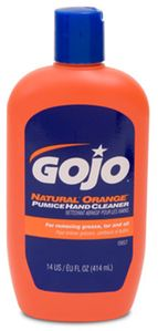 GOJO Natural Orange Pumice Hand Cleaner (14 oz)