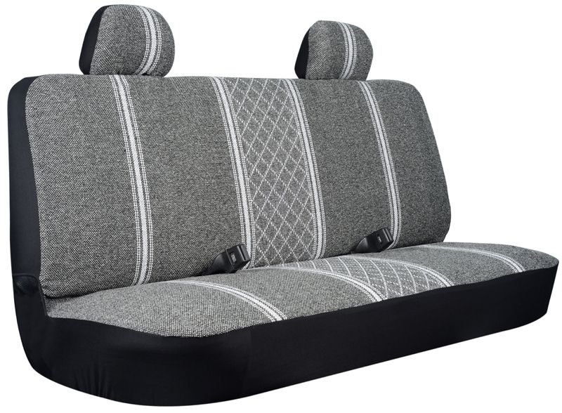 Seat Covers For Trucks >> Gray Diamond Back Truck Bench Seat Cover