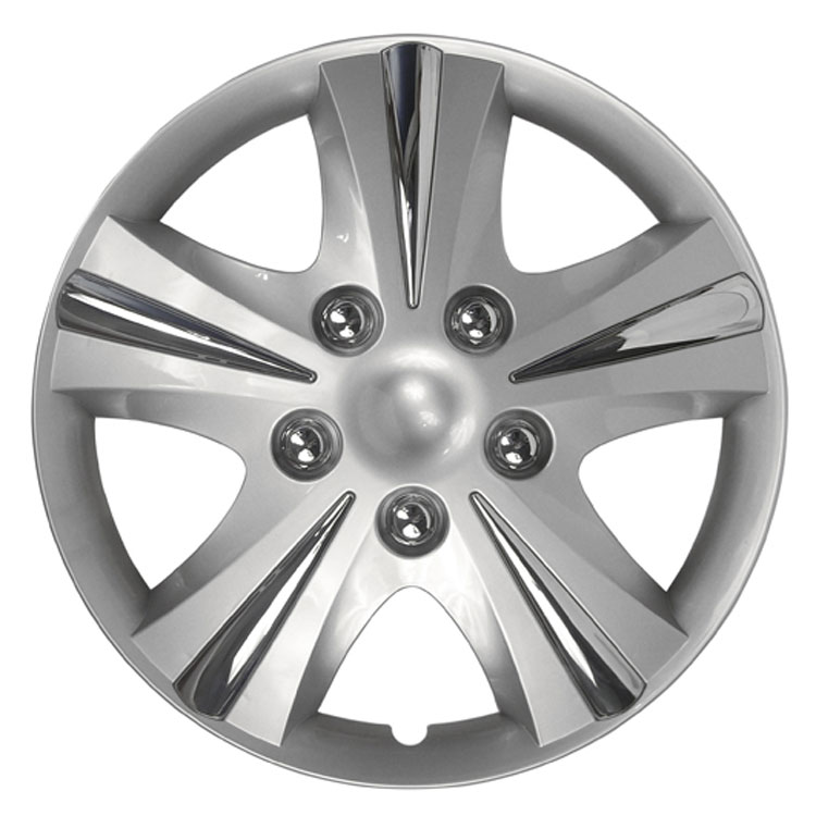 GT 5 Chrome Plated Wheel Covers (Set of 4) - 16in