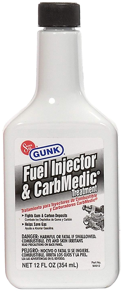 Gunk Fuel Injector & Carburetor Cleaner (12 oz.)