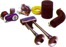 Image of Hadley Bully Electric Dual Air Horn Kit