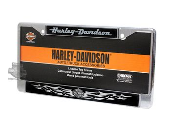 Harley-Davidson Chrome License Plate Frame