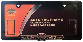 Harley-Davidson Black License Plate Frame