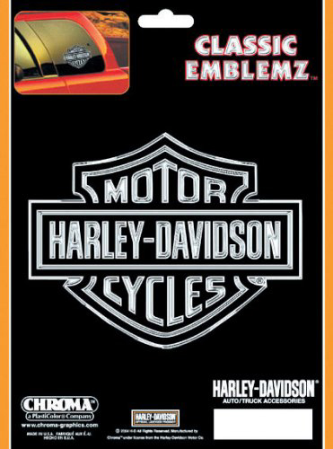 Image of Harley Davidson Classic Emblemz Decal