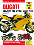 Ducati 600, 750 & 900 2-Valve V-Twins Haynes Repair Manual (1991-2005)
