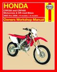 Haynes Honda CRF250 and CRF450 (2002 - 2006)
