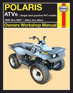 Haynes Polaris ATVs 250 to 500cc Manual (1998-2007)