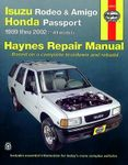 Haynes Repair Manual For Isuzu Rodeo, Amigo & Honda Passport (1989-2002)