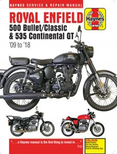 Royal Enfield Haynes Repair Manual (2009-2018)