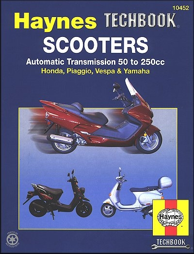 Haynes Techbook Scooters Automatic Transmission 50 to 250cc