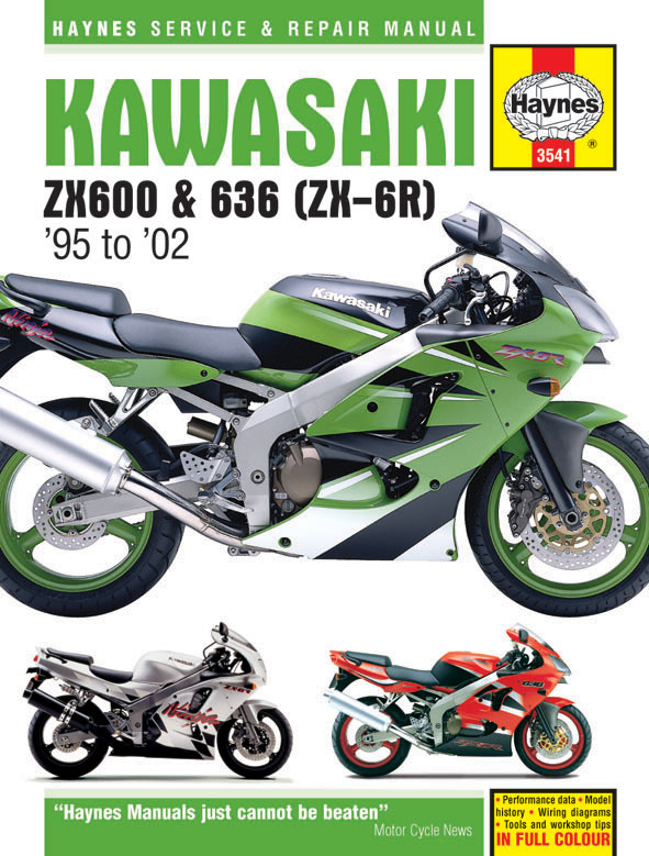 Kawasaki ZX-6R Haynes Repair Manual (1995-2002)