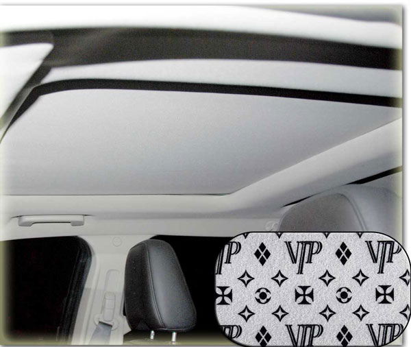 Image of Heads-Up OptionZ Black VIP Stylized Sunroof Fabric Recovery Kit
