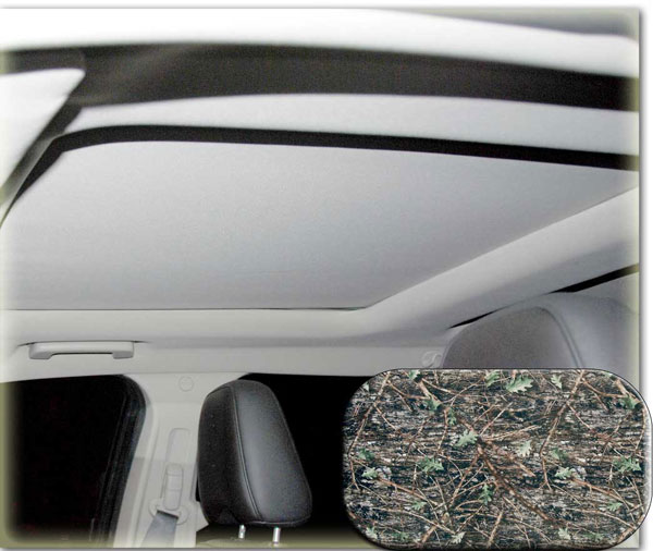 Image of Heads-Up OptionZ Camo Stylized Sunroof Fabric Recovery Kit